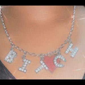 """Bitch""Necklace"